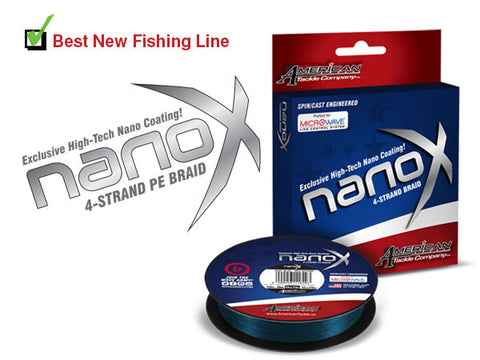 Nano-X 4 Strand  Spod & Marker Braid - customrodsupplies