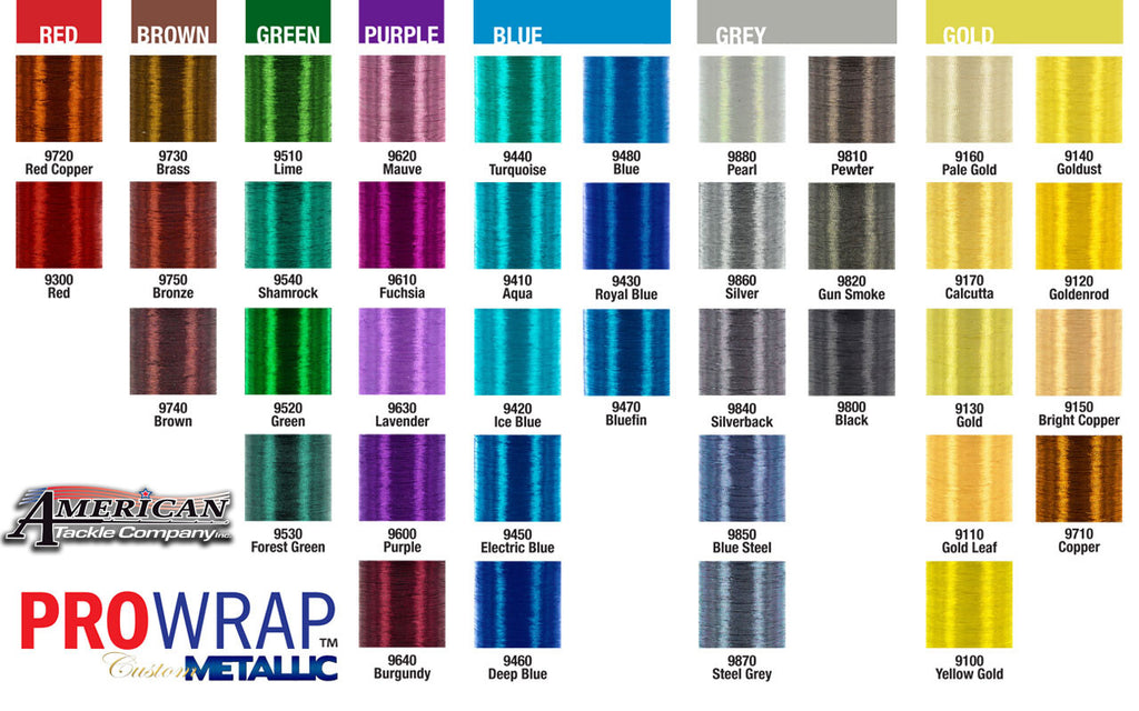 Prowrap Metallic D - customrodsupplies