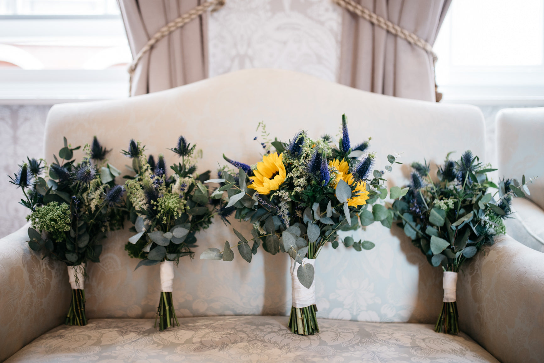 Sunflower Wedding Flowers Nottingham