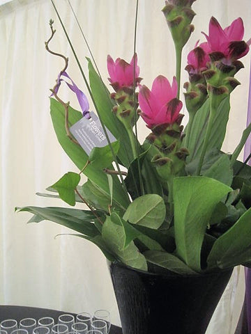 Corporate floral arrangement for business event
