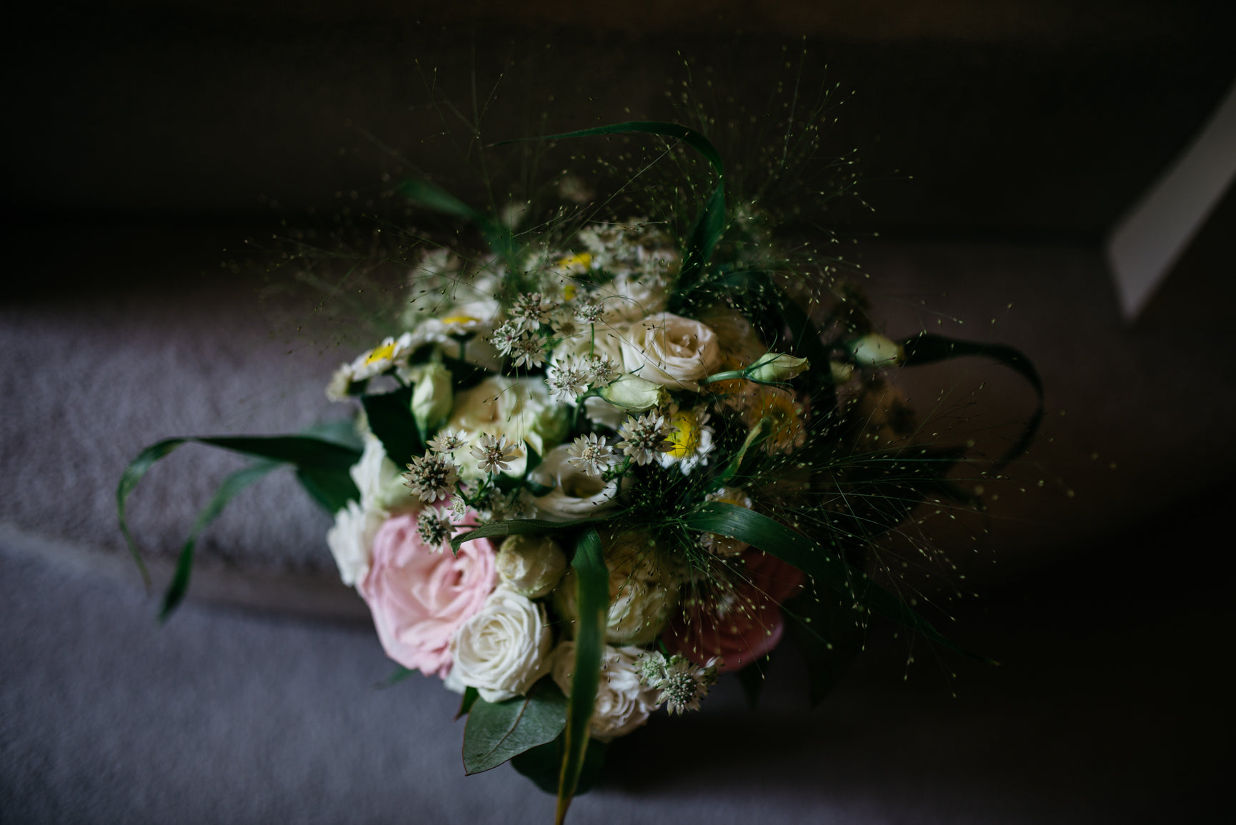 Bridal bouquet Carriage Hall Plumtree