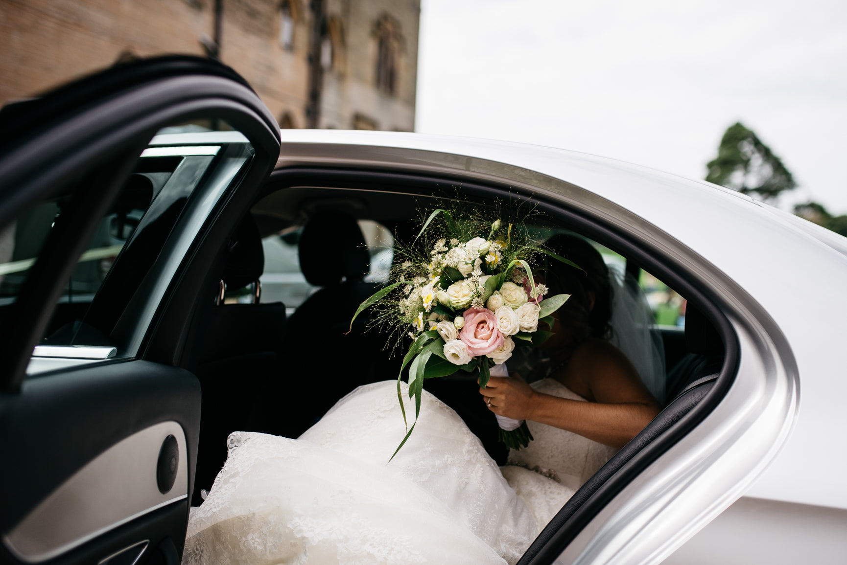 Wedding flowers Carriage Hall Plumtree