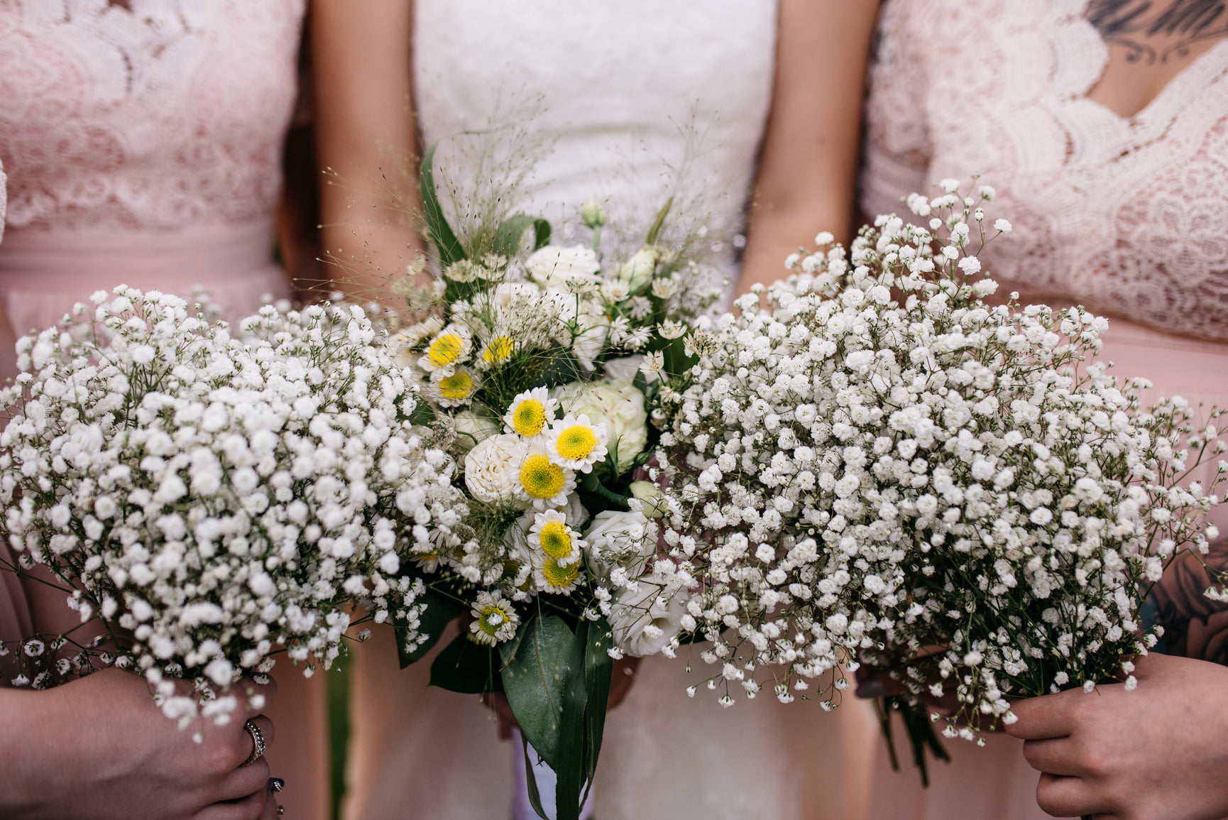 Bridesmaid's Gypsophila Bouquet