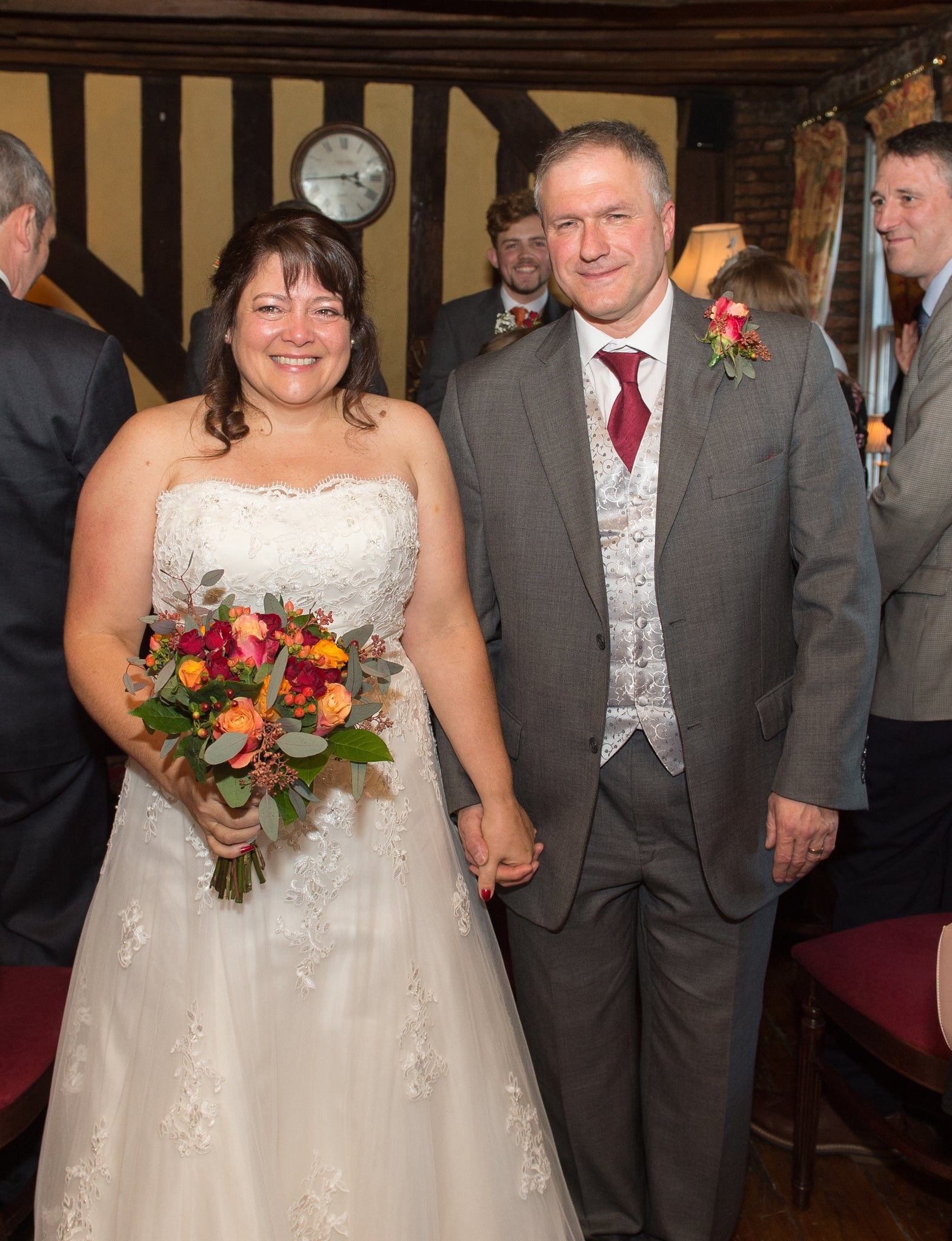 Ruth and Brian Wedding Flowers November 2017