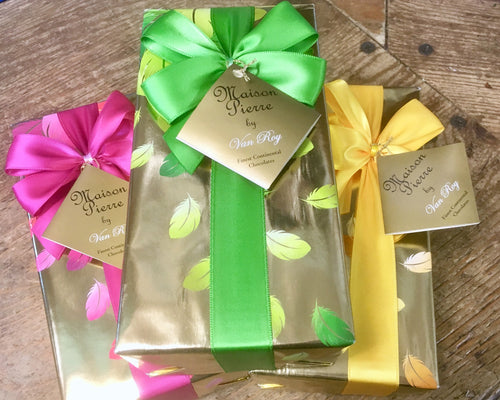 Luxury Belgian chocolates, perfect as an add on to your flowery gift