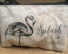 East of India Flamingo Purse