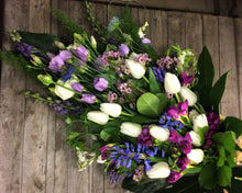 Lilac Spring Sheath Funeral flowers