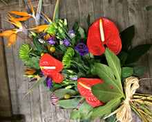 Tropical sheath funeral flowers
