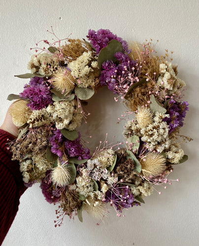 Dried Flower Wreath