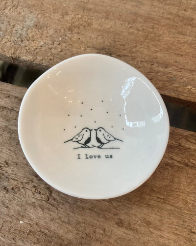 East of India Christmas Trinket Bowl