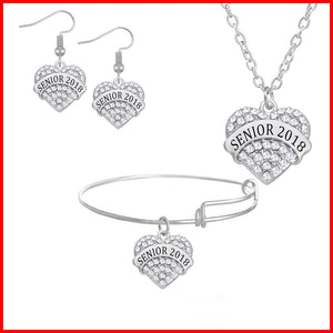 Heart Shaped Graduation Gift - White