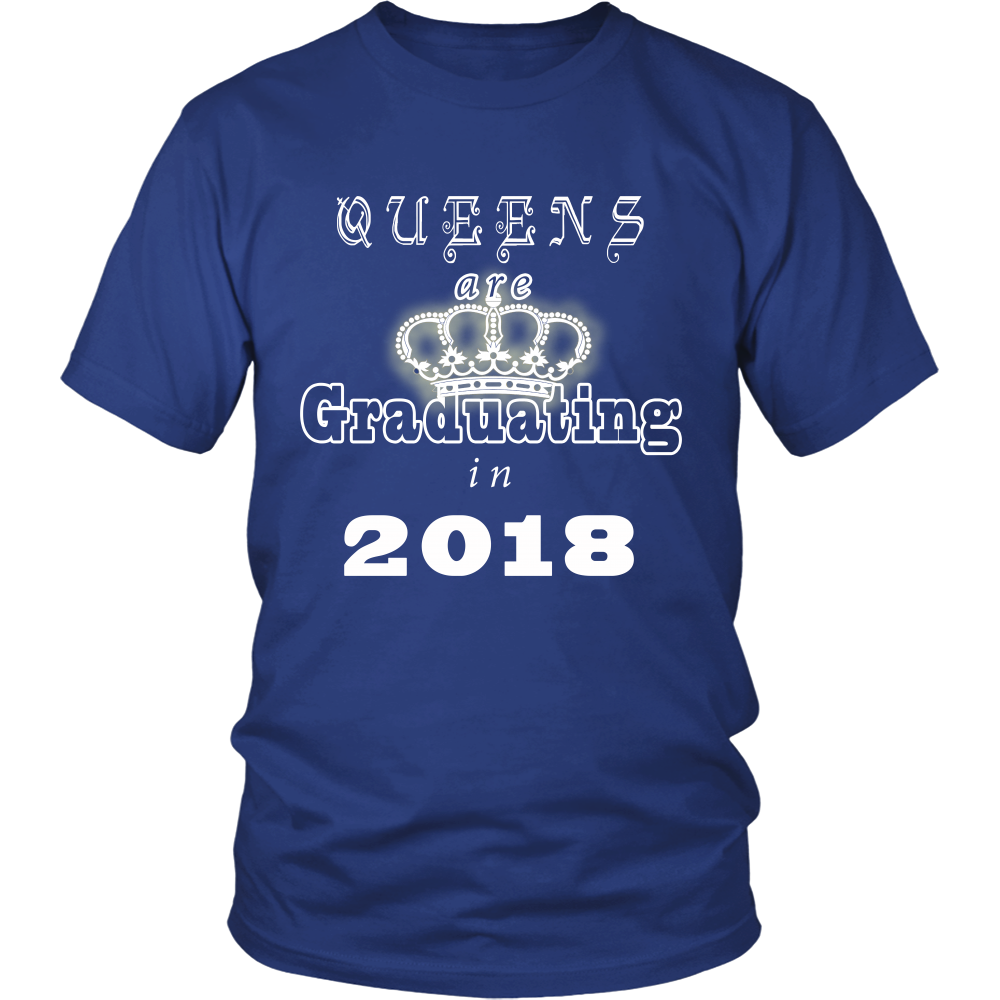 Queens are Graduating in 2018 - 2018 Shirt Design