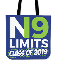 Load image into Gallery viewer, No Limits - Class of 2019 Tote Bag - Blue