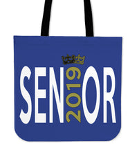 Load image into Gallery viewer, Sen19r - Graduation Tote Bag - Blue