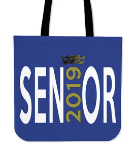 Sen19r - Graduation Tote Bag - Blue