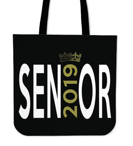 Sen19r - Graduation Tote Bag - Black