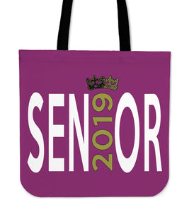 Sen19r - Graduation Tote Bag - Dark Pink
