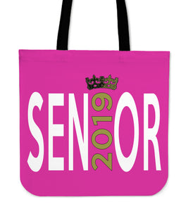 Sen19r - Graduation Tote Bag - Pink