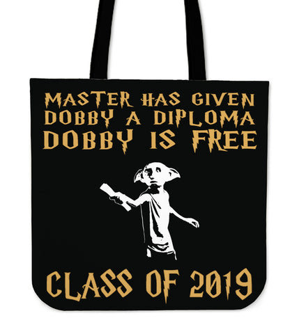 Dobby Is Free - Class of 2019 Tote Bags