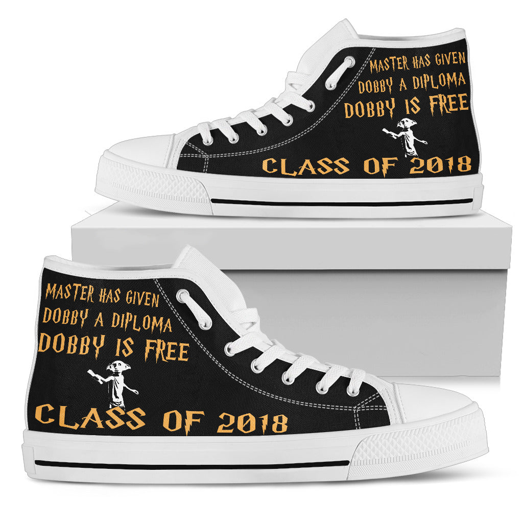 Dobby Is Free Prom Shoes - Women's High Top Shoes