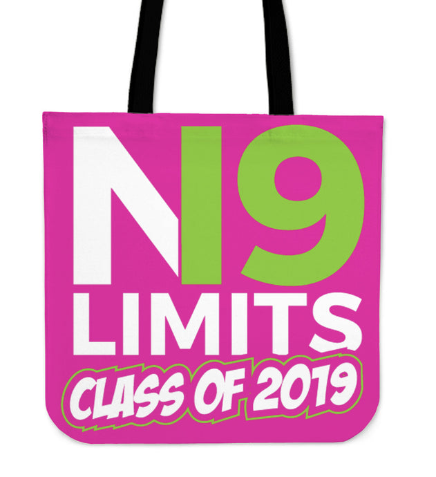 No Limits - Class of 2019 Tote Bag - Pink