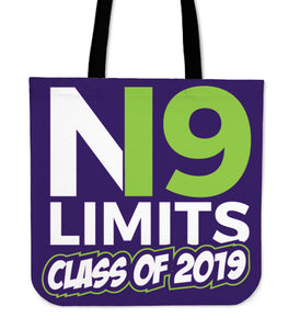 No Limits - Class of 2019 Tote Bag - Purple