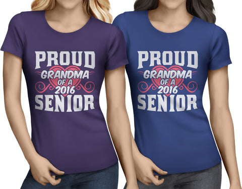 Proud Grandma of a 2016 Senior - My Class Shop
