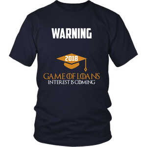 Game of Loans-Class of 2018 slogans