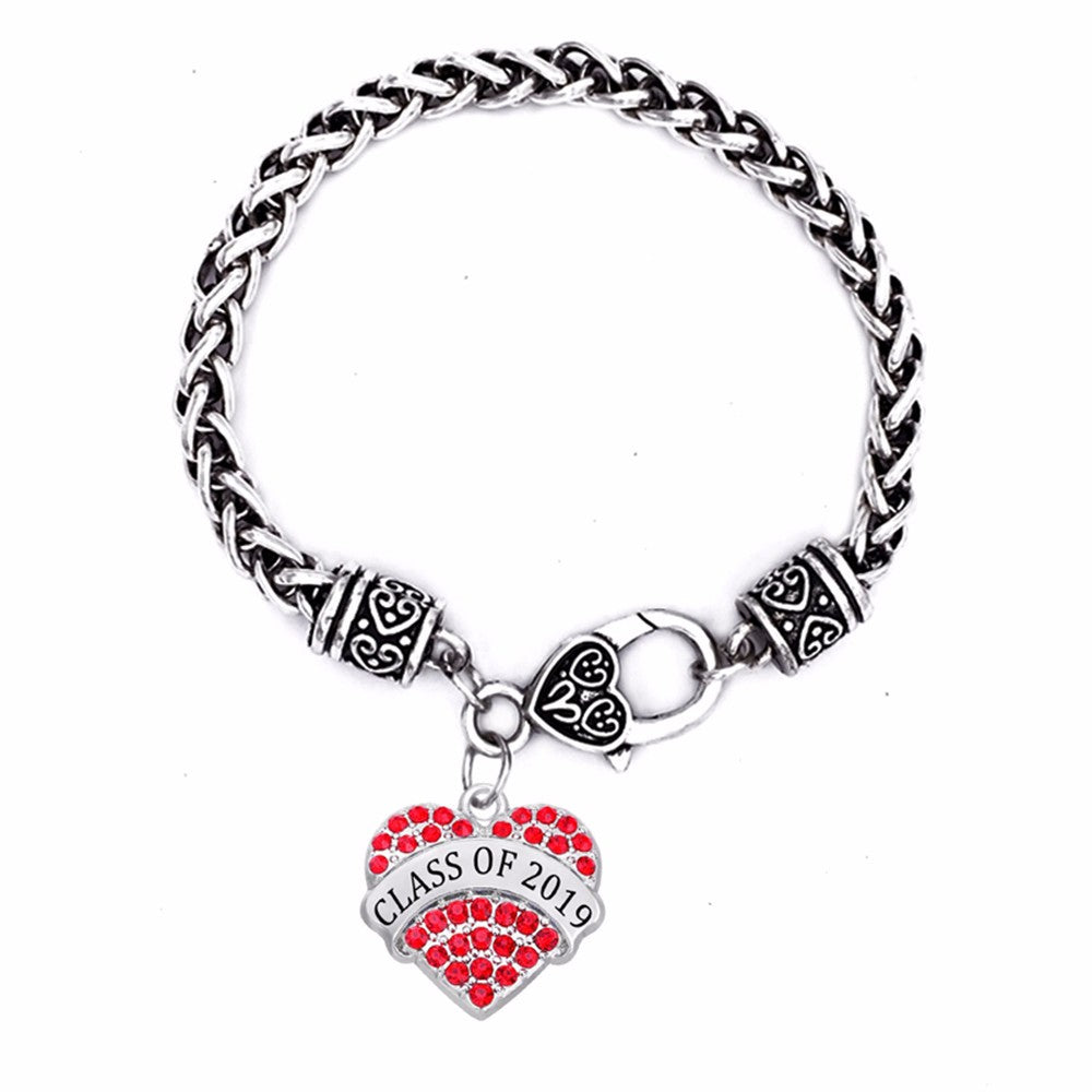 Red Heart - 2019 Graduation Bracelet