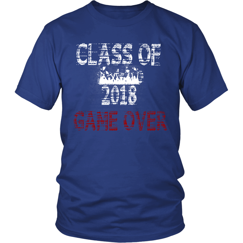 Game Over-Class of 2018 shirts