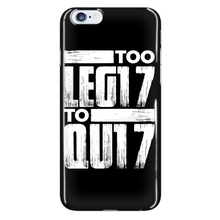 Load image into Gallery viewer, TOO LEG17 TO QU17 - Phone Cases - My Class Shop