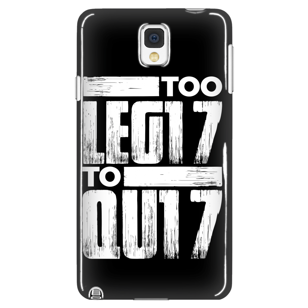 TOO LEG17 TO QU17 - Phone Cases - My Class Shop
