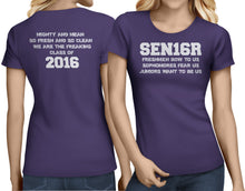 Load image into Gallery viewer, SEN16R - Mighty And Mean, Class of 2016 - My Class Shop