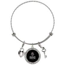Load image into Gallery viewer, Keep Calm and Graduate - Graduation Charm Bracelets 2020