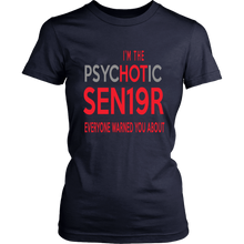 Load image into Gallery viewer, The Psychotic Senior - Funny Class of 2019 Shirts - Navy