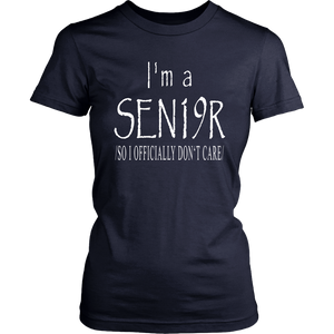 I'm A Senior - Class Of 2019 Senior Shirts