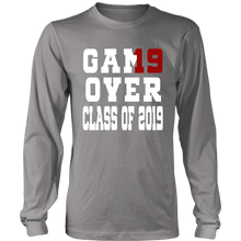 Load image into Gallery viewer, Game Over - Graduation T-shirts - Grey