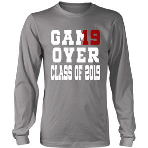 Game Over - Graduation T-shirts - Grey
