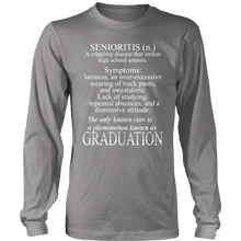 Load image into Gallery viewer, Senioritis - Senior T-shirts 2019 - Grey