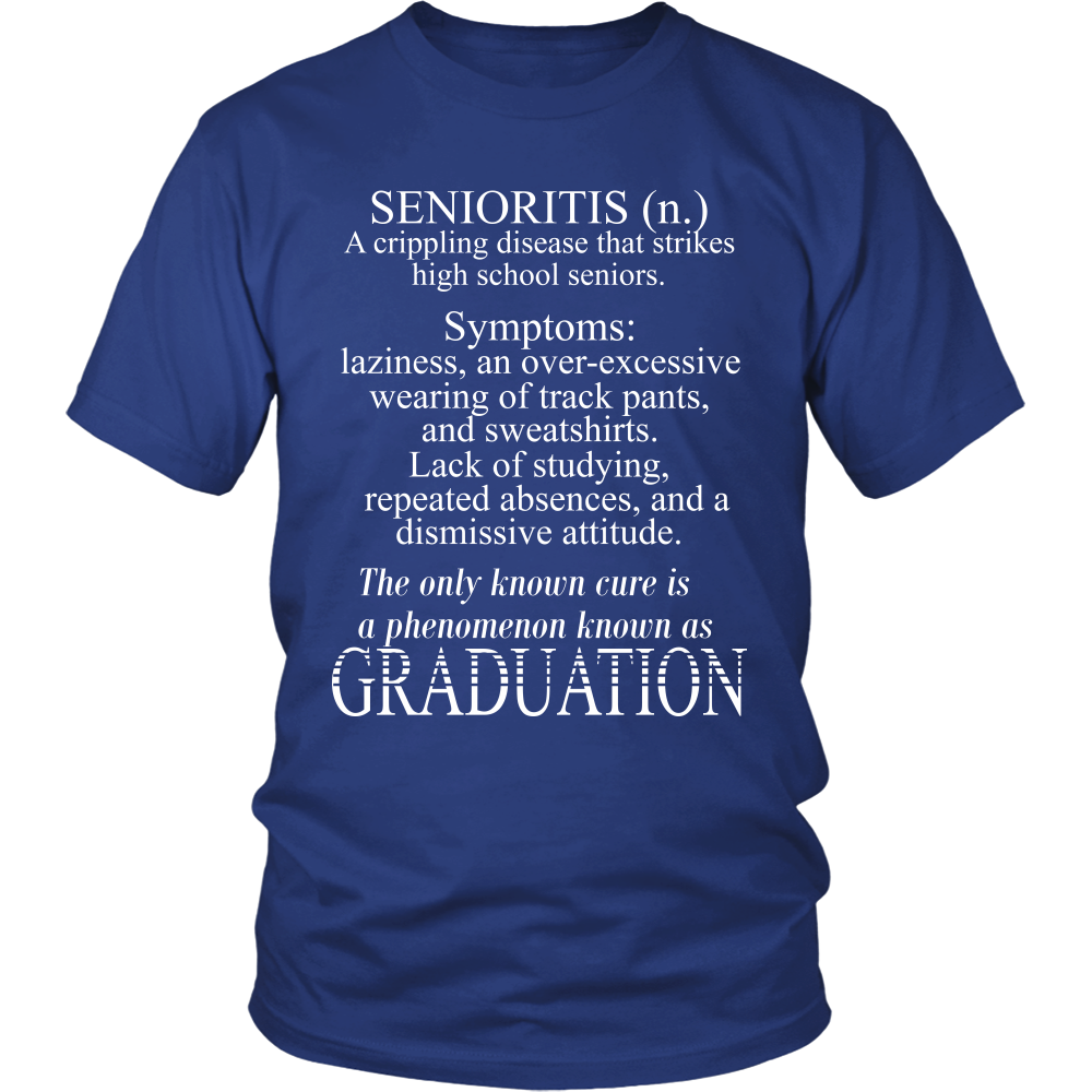 Senioritis-Senioritis symptoms