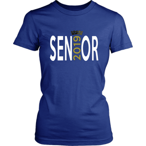 Senior - Class of 2019 T shirts - Blue