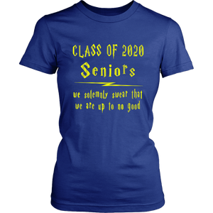 We Solemnly Swear - Class Of 2020 T-shirt