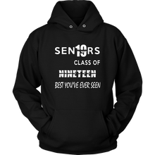 Load image into Gallery viewer, Senior Class of 2019 Hoodie - Black