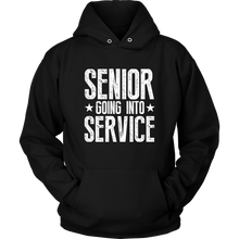 Load image into Gallery viewer, Senior Going Into Service - Class of 2019 Senior Hoodies - Black