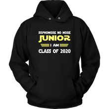 Load image into Gallery viewer, I'm Junior - Class Of 2020 Hoodies - Black