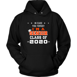 Senior Class Of 2020 Hoodies