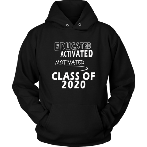 Educated - Class Of 2020 Sweatshirt Ideas - Black