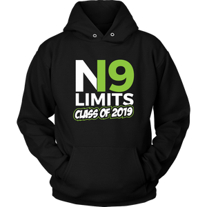 No Limits - Grad Hoodies 2019 - Black