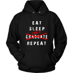 Eat Sleep I D18 It - Class of 2018 Hoodie