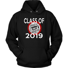 Load image into Gallery viewer, Born To Be Great - Senior 2019 Hoodies - Black